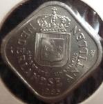 monedas del Mundo : America : Antillas_Neerlandesas :  1985 (Anverso)
