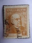 Stamps Argentina -  Domingo F. Sarmiento -(Escritor y Político 1811-1886)