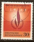 Sellos de Europa - Alemania -  Año de los Derechos Humanos 1968.
