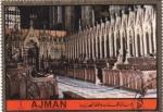 Stamps United Arab Emirates -  Abadía de Westminster- altar