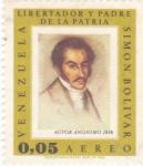 Stamps Venezuela -  Simón Bolívar- militar