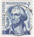 Sellos de America - Estados Unidos -  Presidente G.Washington