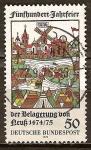 Sellos de Europa - Alemania -  500 años de aniversario del asedio de Neuss 1474-1475.