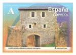 Sellos de Europa - España -  ARCOS  Y  PUERTAS  MONUMENTALES.  PUERTA  DE  SAN  LORENZO,  LAREDO.  CANTABRIA.