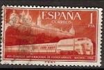 Stamps Spain -  ESPAÑA SEGUNDO CENTENARIO USD Nº 1235 (0) 1P ROJO