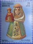 Sellos de America - Colombia -  Navidad 86 - Virgen Mestiza - Barniz de Pasto (Nariño) -Autor:Justiniano Durán