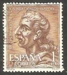 Stamps Spain -  XII Centº de la fundación de Oviedo, Fruela I