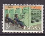 Stamps Spain -  servicio de correos- mecanización postal