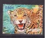 Stamps France -  jaguar