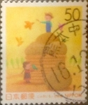 Sellos de Asia - Japón -  Intercambio jxi 0,50 usd 50 yenes 1999