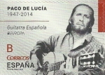 Stamps Europe - Spain -  SERIE EUROPA 2014. PACO DE LUCIA. EDIFIL 4884