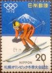 Stamps Japan -  Intercambio cxrf 0,20 usd 20 yenes 1972