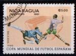 Sellos del Mundo : America : Nicaragua : Fútbol. España 82