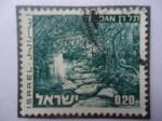 Stamps Israel -  Tel Dan (Monte de Dan)