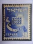 Sellos de Asia - Israel -  Hijos de Jacob-Levi