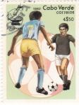 Sellos de Africa - Cabo Verde -  Mundial de futbol España-82
