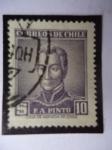 Stamps : Asia : Cyprus :  Francisco Antonio Pinto  (1785-1858)