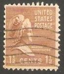 Stamps United States -  370 - Martha Washington