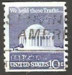 Sellos de America - Estados Unidos -  1008 a - A la memoria de Jefferson