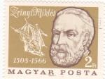 Sellos de Europa - Hungría -  Zrinyi Miklós 1508-1566  -heroe