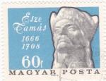 Stamps Hungary -  Esze Tamás 1666-1708