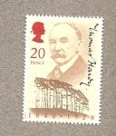 Stamps United Kingdom -  Thomas Hardy