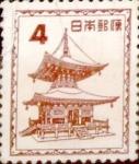 Sellos de Asia - Japón -  Intercambio cxrf2 0,20 usd 4 yenes 1952