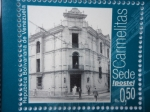 Sellos de America - Venezuela -  Edificio de Correos Carmelitas Sede Ipostel- (Perspectiva y Proyectos de Reconstrucción del Edificio