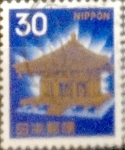 Stamps Japan -  Intercambio 0,20 usd 30 yenes 1966