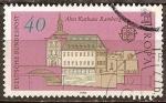 Sellos de Europa - Alemania -  El antiguo Ayuntamiento en Bamberg.