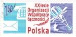 Stamps Poland -  Telecomunicaciones