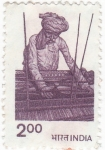 Stamps : Asia : India :  Tejedor