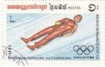 Sellos de Asia - Camboya -  Juegos Olímpicos Sarajevo-84