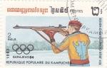 Stamps Cambodia -  Juegos Olímpicos Sarajevo-84