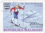 Sellos de Africa - Madagascar -  Juegos Olímpicos Innsbruck