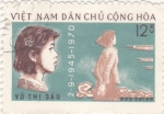 Sellos de Asia - Vietnam -  Fusilamiento