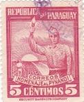 Stamps Paraguay -  Homenaje al Pynandi