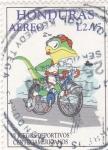 Stamps Honduras -  Juegos deportivos centroamericanos