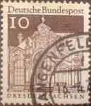 Sellos de Europa - Alemania -  Intercambio 0,20 usd 10 pf 1967