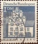 Sellos de Europa - Alemania -  Intercambio 0,20 usd 1 mark 1966