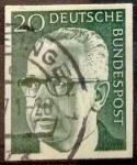 Sellos del Mundo : Europa : Alemania : Intercambio mas 0,20 usd 20 pf 1970