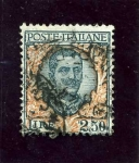 Stamps Italy -  Victor Manuel III