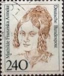 Stamps Germany -  Intercambio 0,90 usd 240 pf 1986