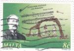 Sellos de Europa - Malta -  Compositor Himno Navideño