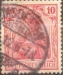 Sellos del Mundo : Europa : Alemania : Intercambio mas 1,25 usd 1,0 pf 1905