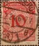 Sellos de Europa - Alemania -  Intercambio ma2s 0,20 usd 10 pf 1923