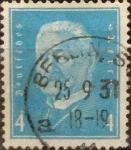 Stamps Germany -  Intercambio 0,30 usd 4 pf 1931