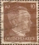 Stamps : Europe : Germany :  Intercambio aea2 0,20 pf 10 pf 1941
