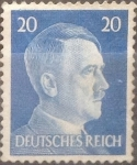 Stamps : Europe : Germany :  Intercambio nxrl 0,20 usd 20 pf 1941