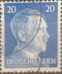 Stamps : Europe : Germany :  Intercambio agm 0,20 usd 20 pf 1941